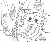 Coloriage et dessins gratuit Les Bagnoles 22 à imprimer