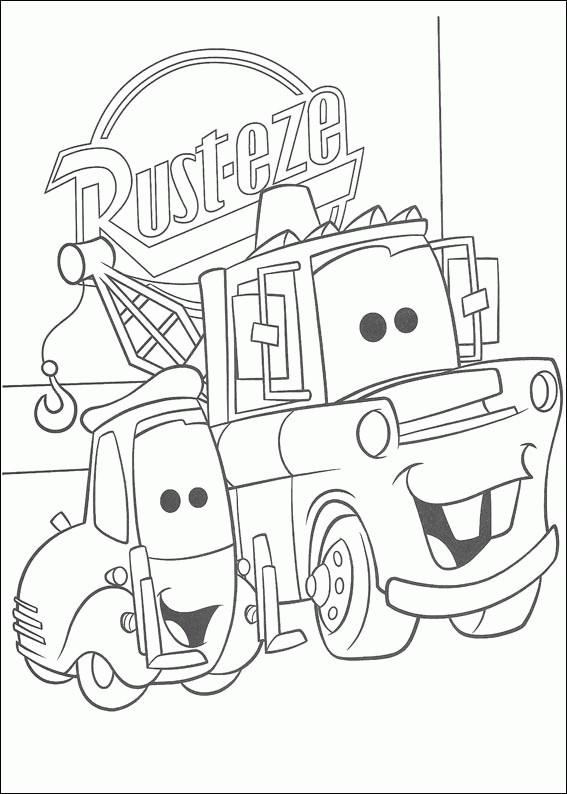 Coloriage et dessins gratuits Les Bagnoles 3 à imprimer