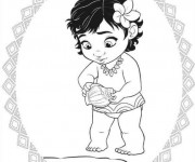 Coloriage et dessins gratuit La petite Viana à imprimer