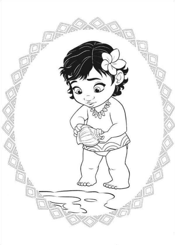 Coloriage et dessins gratuits La petite Viana à imprimer