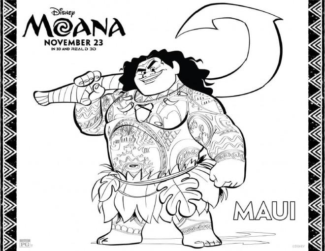 Coloriage et dessins gratuits Moana Viana 13 à imprimer