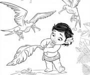 Coloriage et dessins gratuit Viana bébé à imprimer