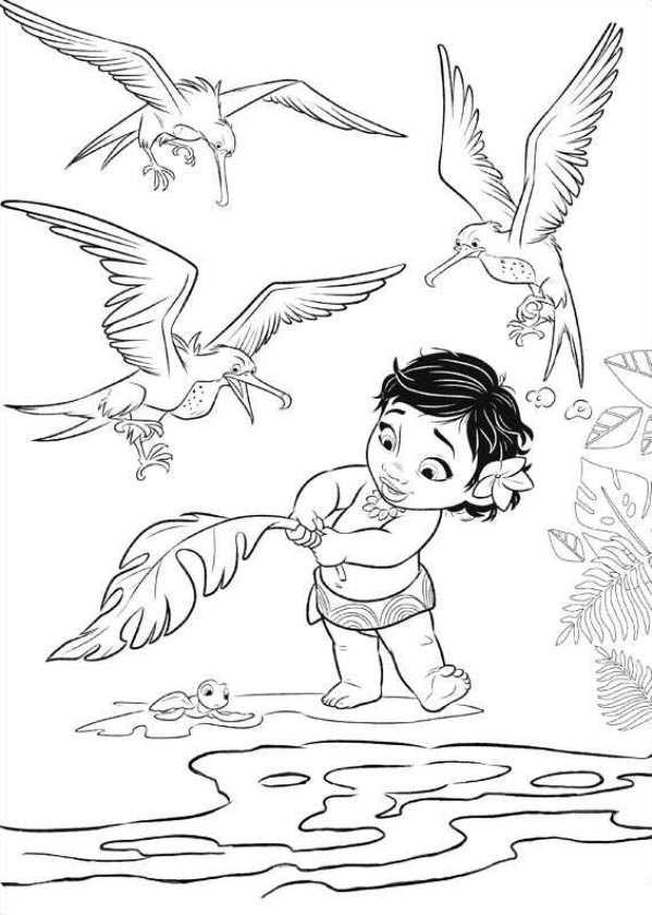 Coloriage et dessins gratuits Viana bébé à imprimer