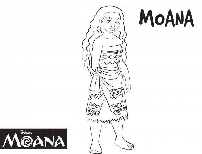 Coloriage et dessins gratuits Viana Disney à imprimer