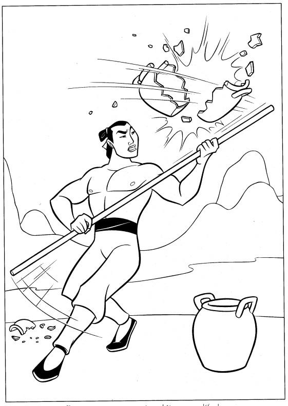 Coloriage et dessins gratuits Général Shang à imprimer