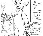 Coloriage et dessins gratuit Michael de Peter Pan à imprimer