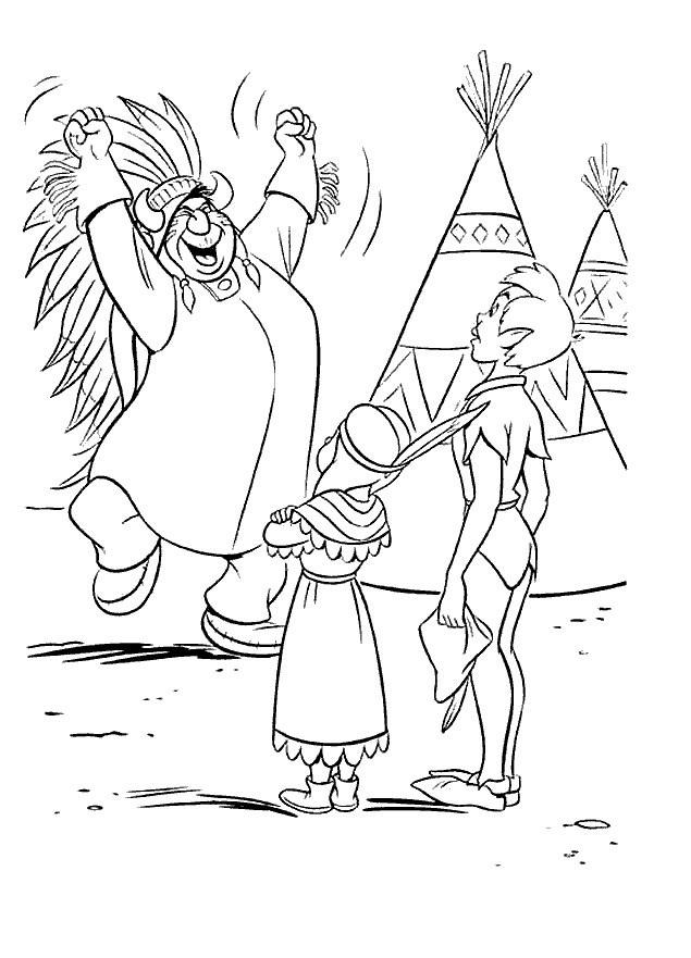 Coloriage et dessins gratuits Peter et Lily à imprimer
