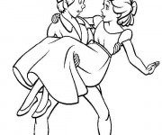 Coloriage Peter et Wendy Disney