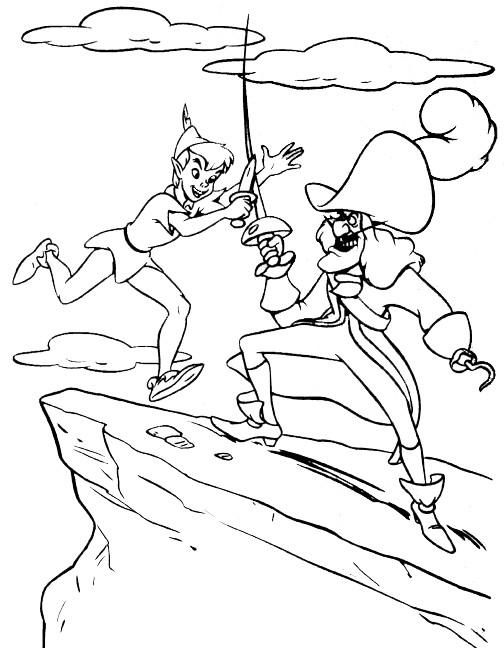 Coloriage et dessins gratuits Peter Pan 11 à imprimer