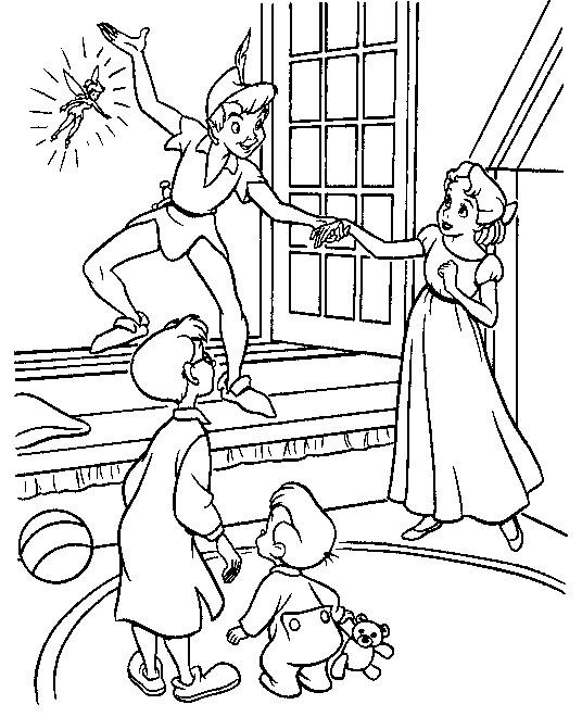 Coloriage et dessins gratuits Peter Pan 31 à imprimer
