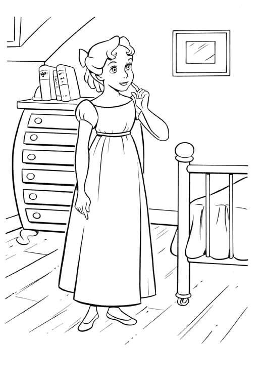 Coloriage et dessins gratuits Wendy 1 à imprimer