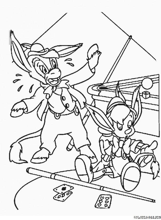 Coloriage et dessins gratuits Pinocchio 59 à imprimer