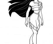 Coloriage et dessins gratuit Pocahontas 16 à imprimer