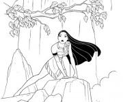 Coloriage Pocahontas 44
