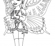 Coloriage Amber disney