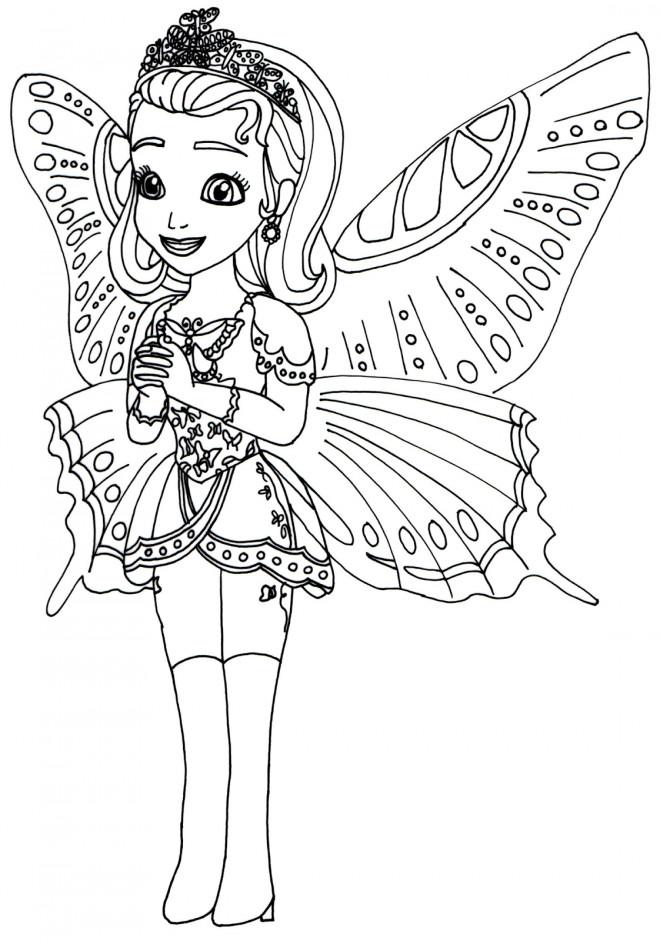 Coloriage et dessins gratuits Amber disney à imprimer