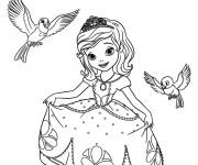 Coloriage princesse sofia gratuit imprimer - Coloriage gratuit princesse sofia ...