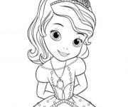 Coloriage Princesse Sofia de Disney