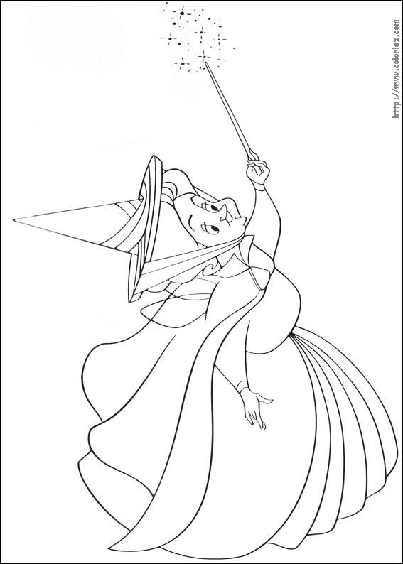 Coloriage et dessins gratuits Princesse Sofia et Flora à imprimer