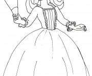 Coloriage Princesse Sofia et sa soeur Ambre