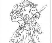 dessiner en ligne vos coloriages prfrs de raiponce 4