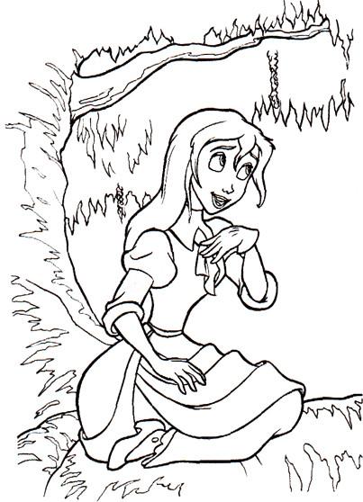Coloriage et dessins gratuits Zootopie couleur à imprimer