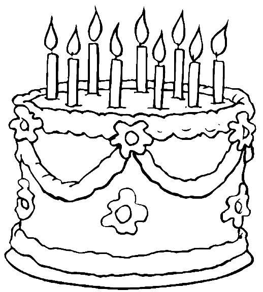 Coloriage anniversaire adulte dessin gratuit imprimer - Dessin a imprimer anniversaire ...