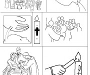 Coloriage Bapteme 11 dessin gratuit à imprimer