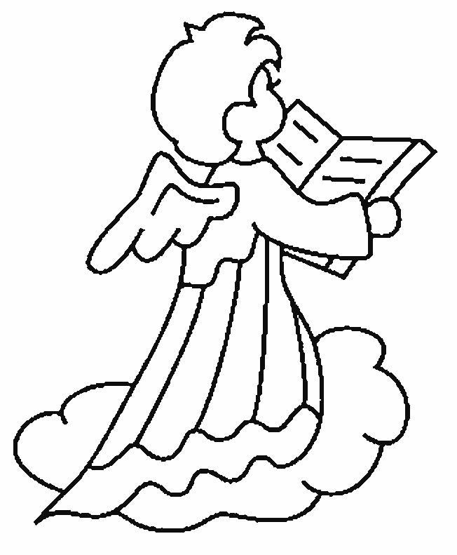 Dessin Baptême Catholique coloriage baptême ange dessin gratuit à imprimer