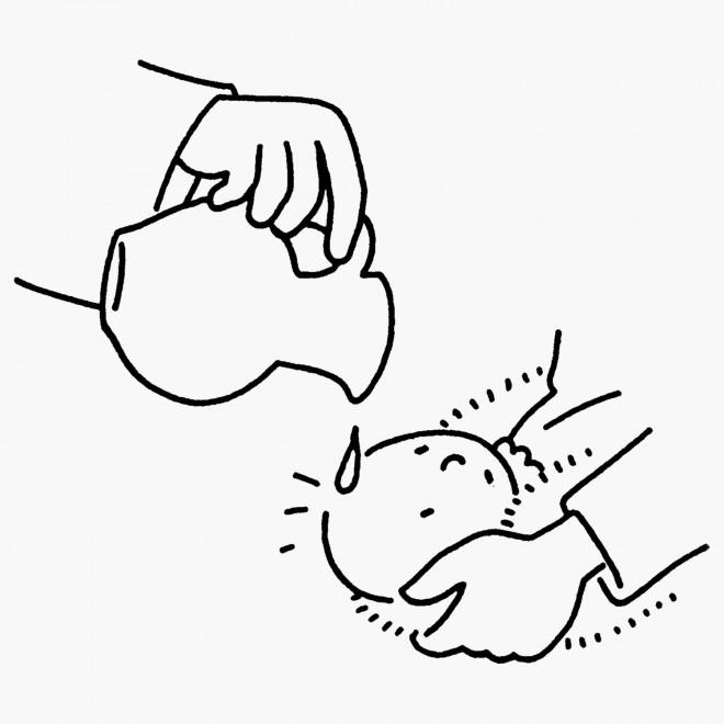 Coloriage et dessins gratuits Baptême bébé à imprimer