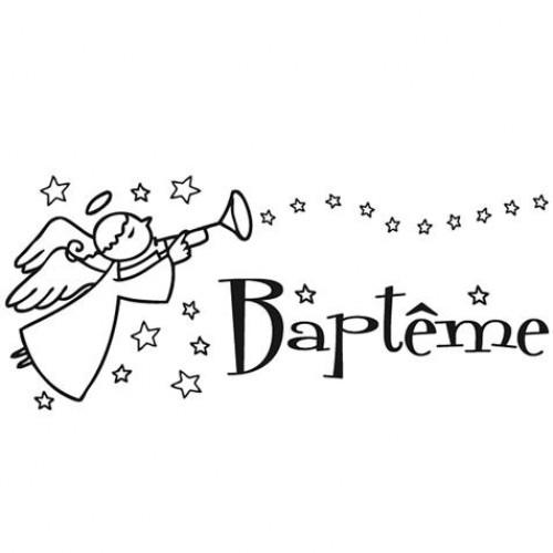 Coloriage Baptême En Ligne Dessin Gratuit à Imprimer