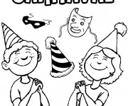Coloriage Carnaval 5