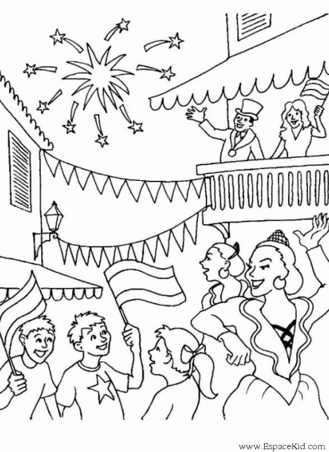 Coloriage et dessins gratuits Carnaval de Rio à imprimer