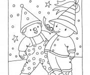 Coloriage et dessins gratuit Carnaval pour enfant à imprimer
