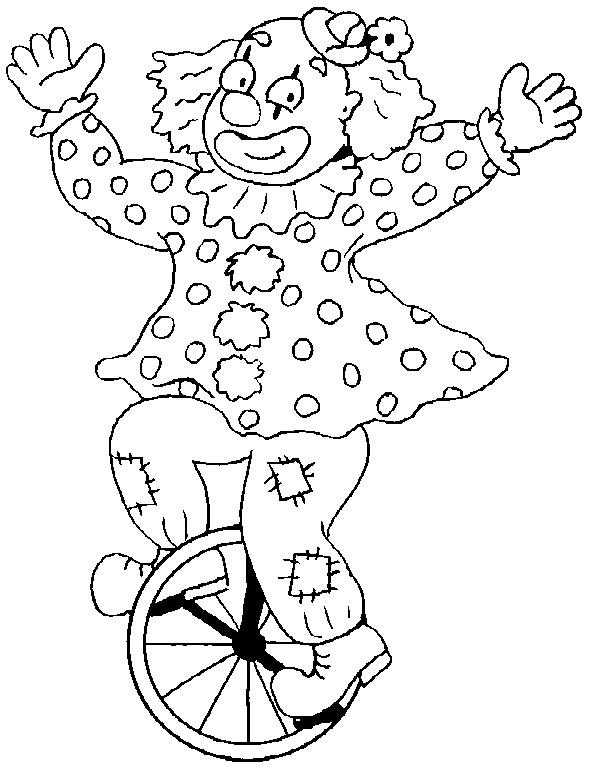 Coloriage et dessins gratuits Clown à colorier à imprimer