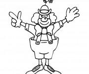 Coloriage dessin  Clowns 1