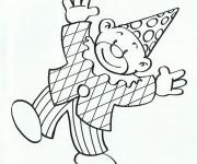 Coloriage dessin  Clowns 14