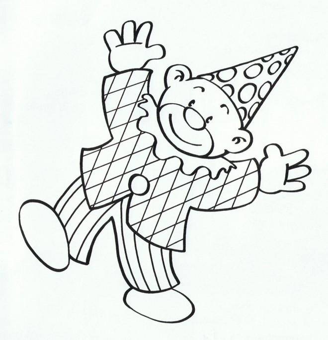 Coloriage clowns 14 dessin gratuit imprimer - Clown coloriage ...