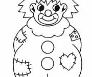 Coloriage dessin  Clowns 18