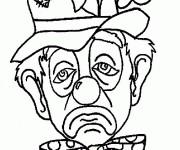 Coloriage dessin  Clowns 20