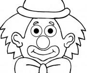 Coloriage dessin  Clowns 8