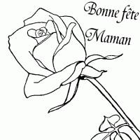 Coloriage et dessins gratuit Fête des Mamans à imprimer
