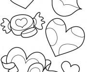 Coloriage dessin  Fete des Meres 2