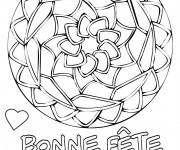 Coloriage et dessins gratuit Fête des Mères maternelle à imprimer
