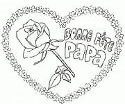 Coloriage et dessins gratuit Bonne Fête des Pères à imprimer