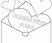 Coloriage et dessins gratuit En ligne Fête des Pères à imprimer