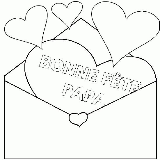 Coloriage en ligne f te des p res dessin gratuit imprimer - Idee dessin fete des peres ...