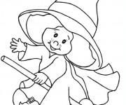 Coloriage Déguisement Halloween