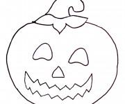 Coloriage et dessins gratuit Halloween 21 à imprimer