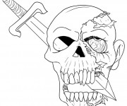 Coloriage et dessins gratuit Halloween 32 à imprimer